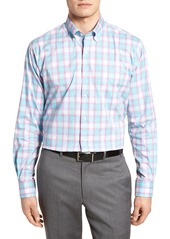Peter Millar Crown Comfort Pacific Plaid Sport Shirt