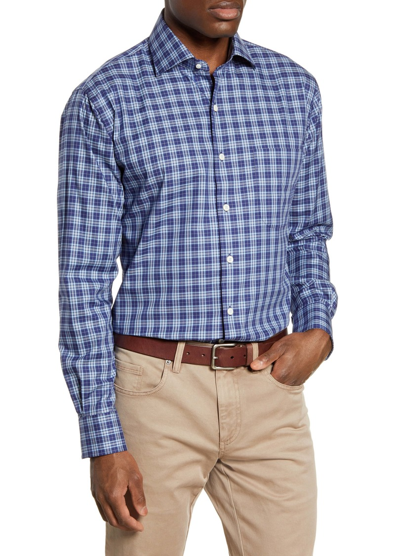 Peter Millar Crown Ease Ambler Regular Fit Plaid Button-Up Shirt