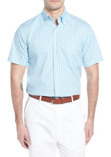 Peter Millar Crown Ease Eventide Check Sport Shirt