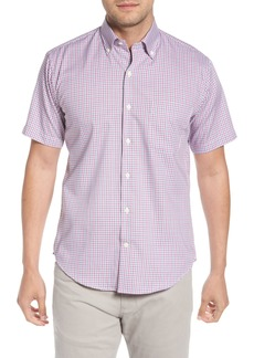 Peter Millar Crown Ease Rootin' Tootin' Check Sport Shirt