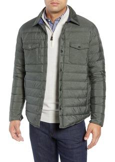 Peter Millar Crown Elite Light Down Shirt Jacket