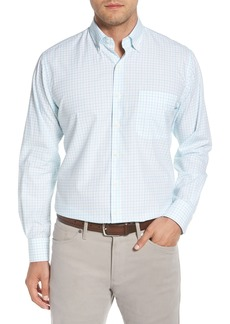 Peter Millar Crown Finish Wetland Tattersall Sport Shirt