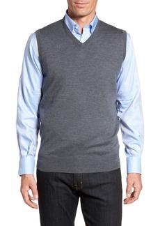Peter Millar Crown Merino Blend Knit Vest