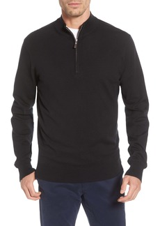 Peter Millar Crown Quarter Zip Pullover Sweater