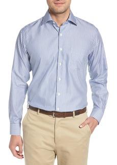 Peter Millar Crown Soft Avery Regular Fit Stripe Sport Shirt