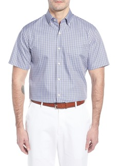 Peter Millar Crown Soft Carlsplaid Regular Fit Sport Shirt