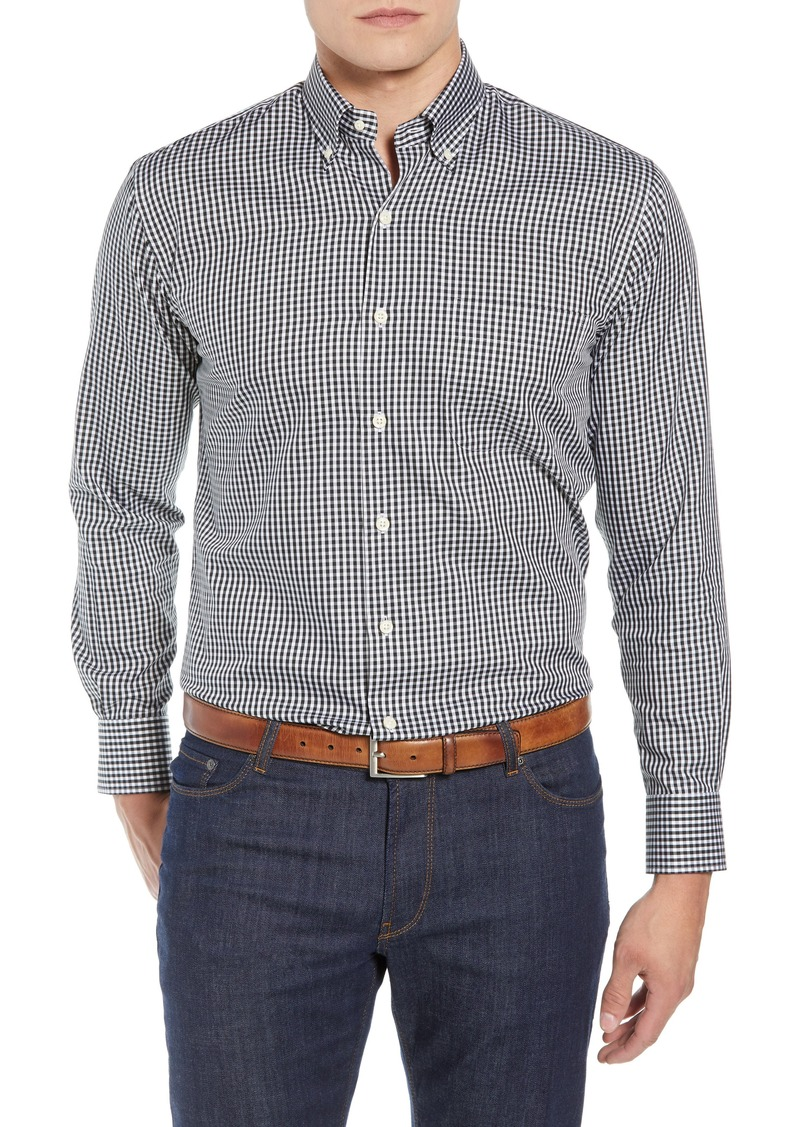 Peter Millar Crown Soft Gingham Regular Fit Shirt