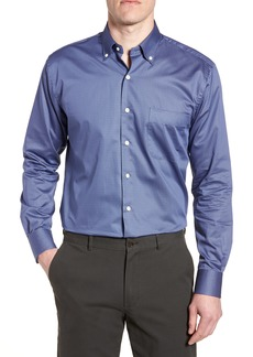 Peter Millar Dark Roast Print Sport Shirt