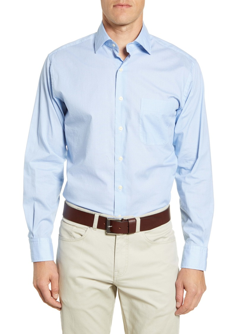 Peter Millar Dew Drop Regular Fit Button-Up Shirt