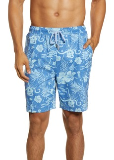 Peter Millar Drunk Skull Swim Trunks