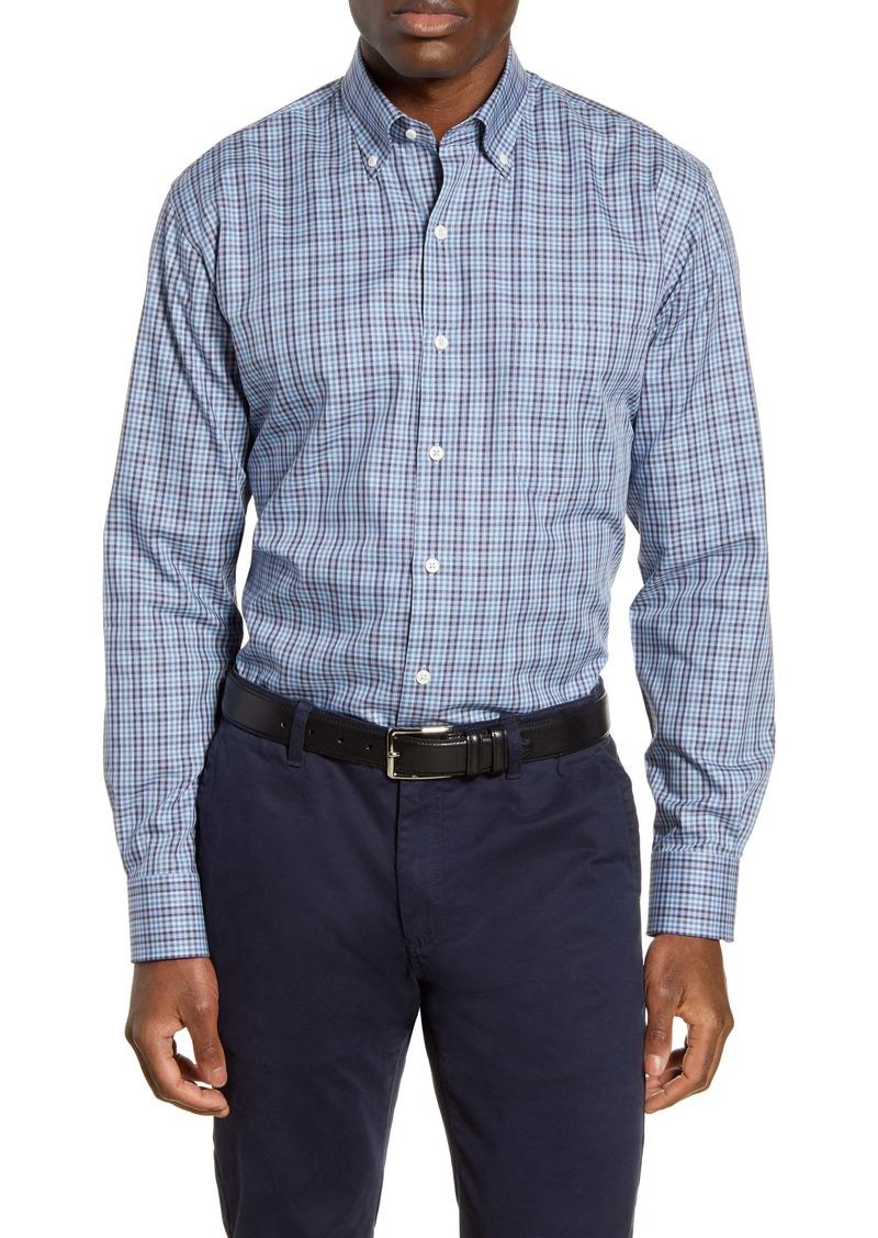 Peter Millar Edmund Regular Fit Check Button-Down Shirt