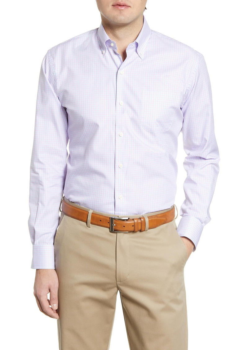 Peter Millar Eugene Multi Check Button-Down Shirt