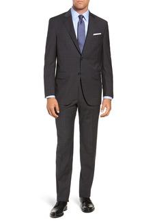Peter Millar Flynn Classic Fit Plaid Wool Suit