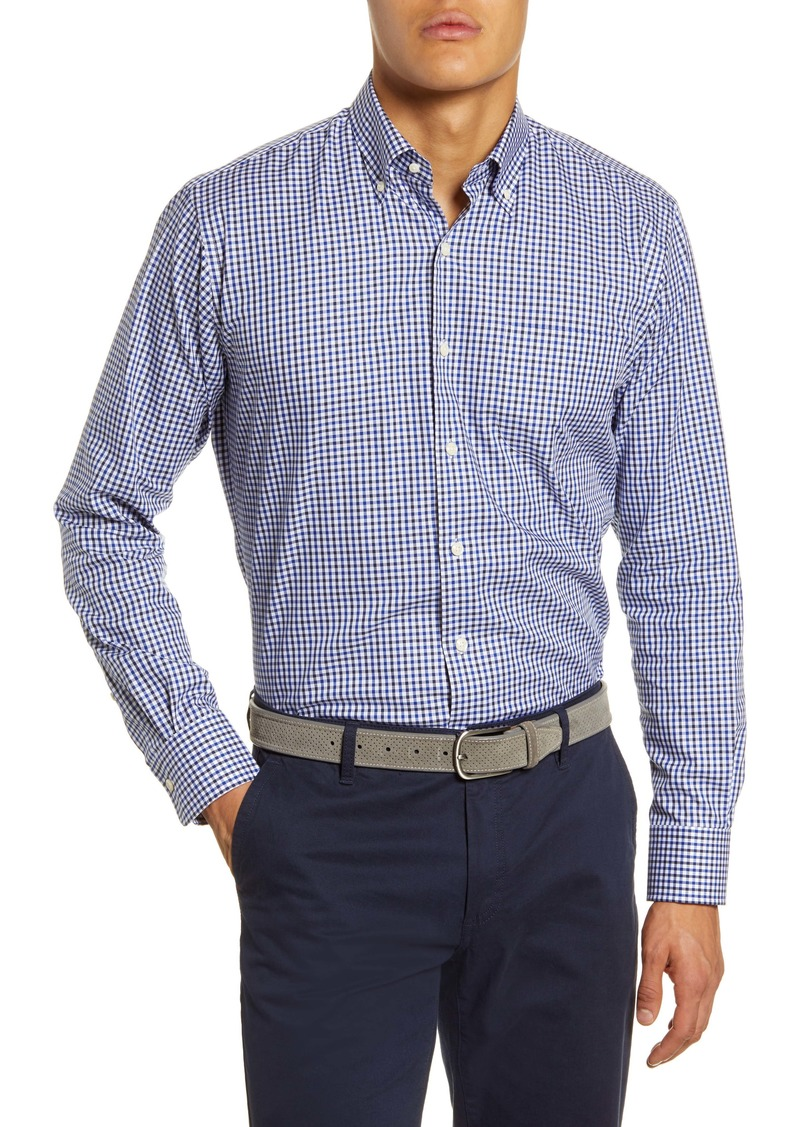 Peter Millar Gearheart Check Button-Down Shirt
