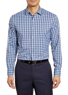 Peter Millar Gilbert Regular Fit Plaid Button-Up Performance Sport Shirt