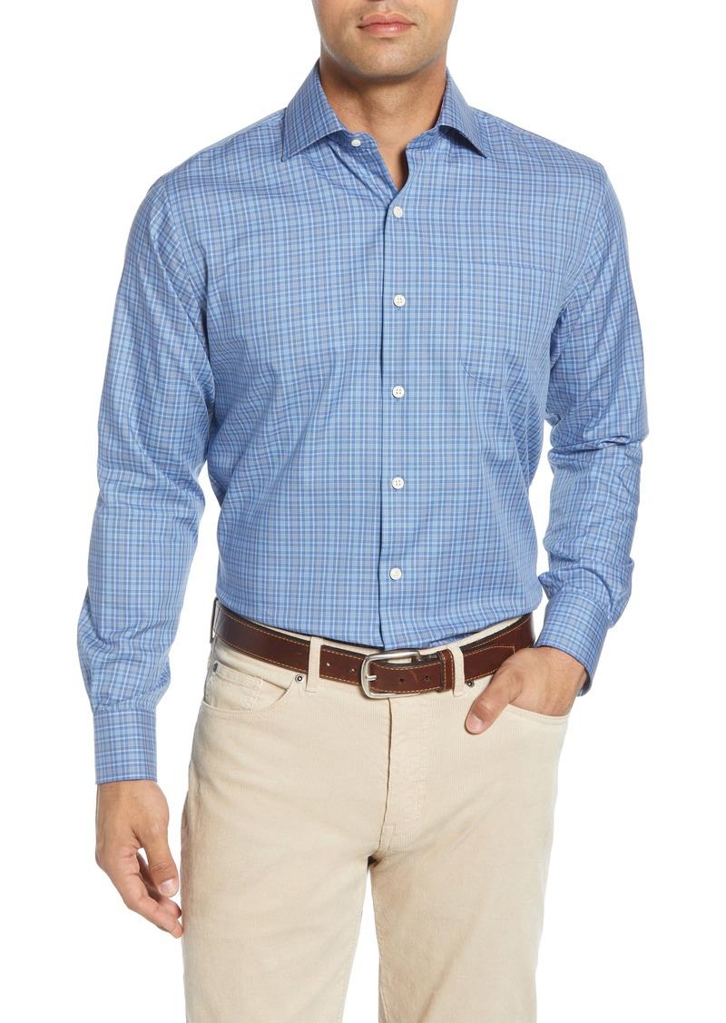 Peter Millar Grant Regular Fit Gingham Button-Up Shirt
