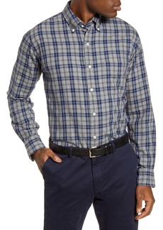 Peter Millar Grays Beach Regular Fit Check Button-Down Shirt