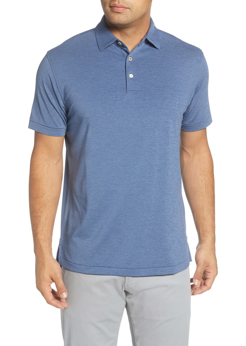 Peter Millar Halford Stripe Performance Polo