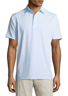 Peter Millar Halford Striped Stretch Jersey Polo Shirt