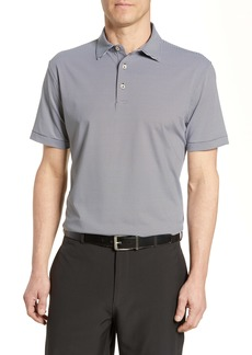 Peter Millar Jubilee Stripe Stretch Jersey Performance Polo