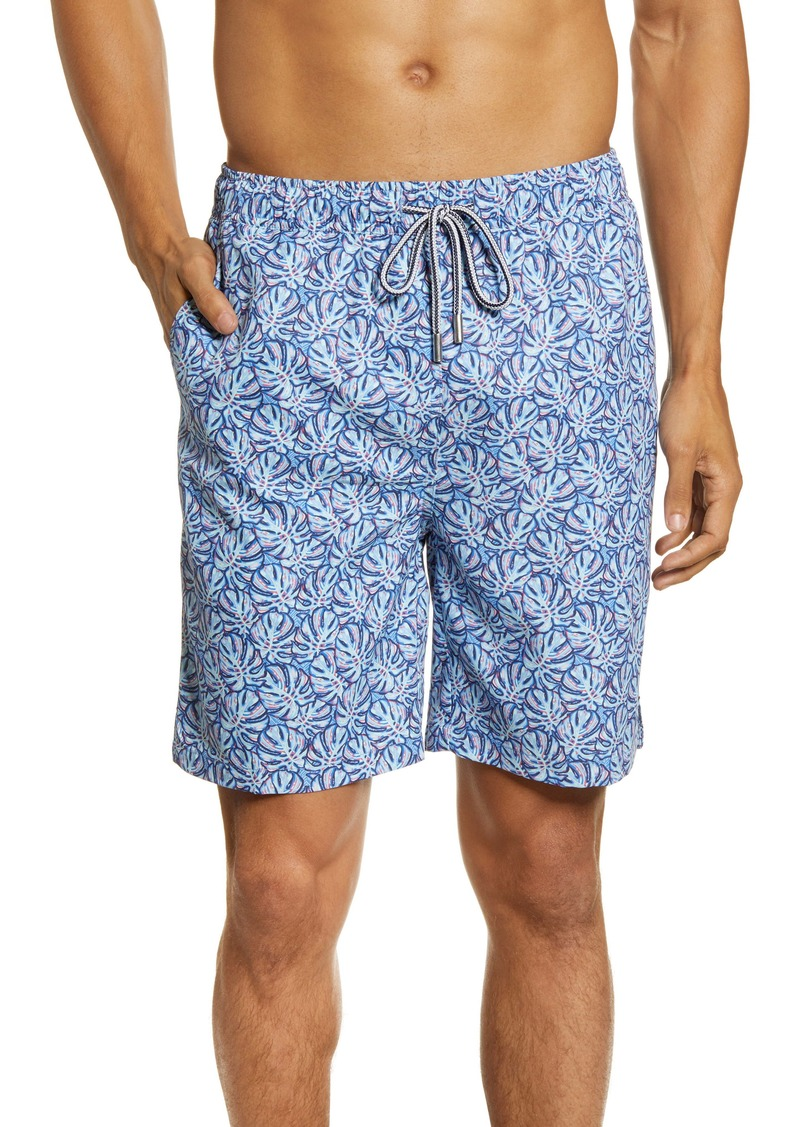 Peter Millar Mad Monstera Swim Trunks