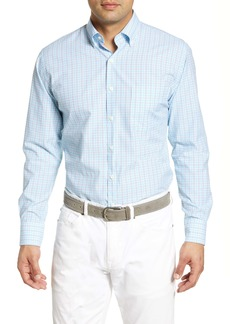 Peter Millar March Check Button Down Shirt