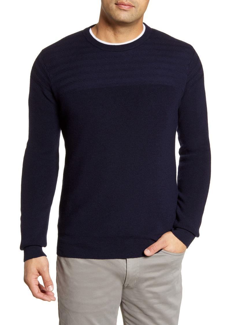 Peter Millar Marina Wool Crewneck Sweater