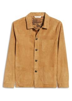 Peter Millar Men's Suede Chore Coat