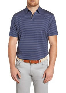 Peter Millar Montgomery Stripe Performance Polo