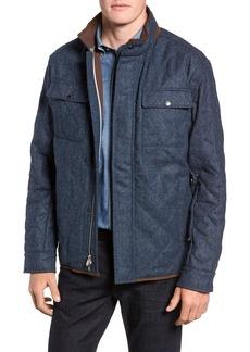 Peter Millar Mountain Quilted Shirt Jacket