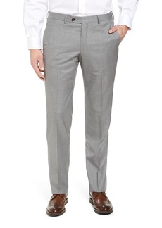 Peter Millar Multi Season Super 150s Wool Flat Front Trousers