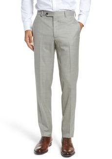 Peter Millar Multi Season Super 150s Wool Flat Front Trousers