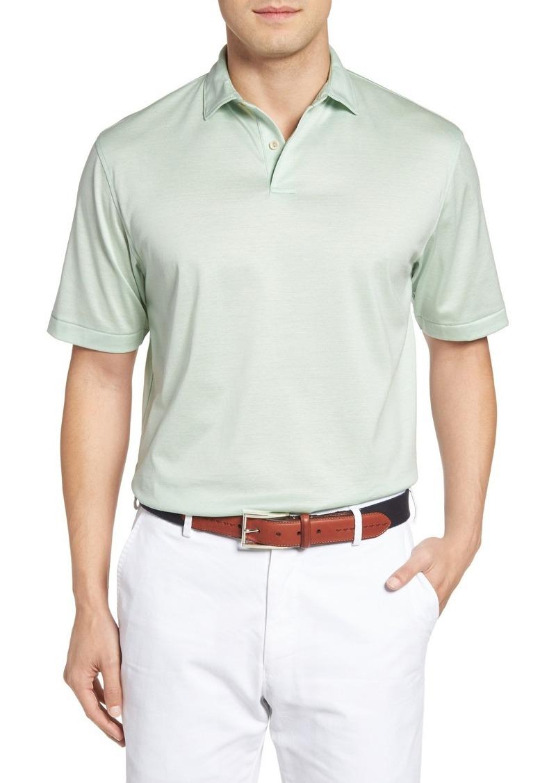 Peter millar peter millar nanoluxe golf polo casual for Peter millar golf shirts