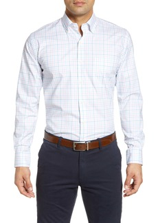 Peter Millar Oak Bluffs Regular Fit Plaid Button-Down Shirt