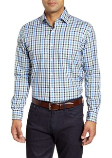 Peter Millar Ocracoke Check Button-Up Shirt