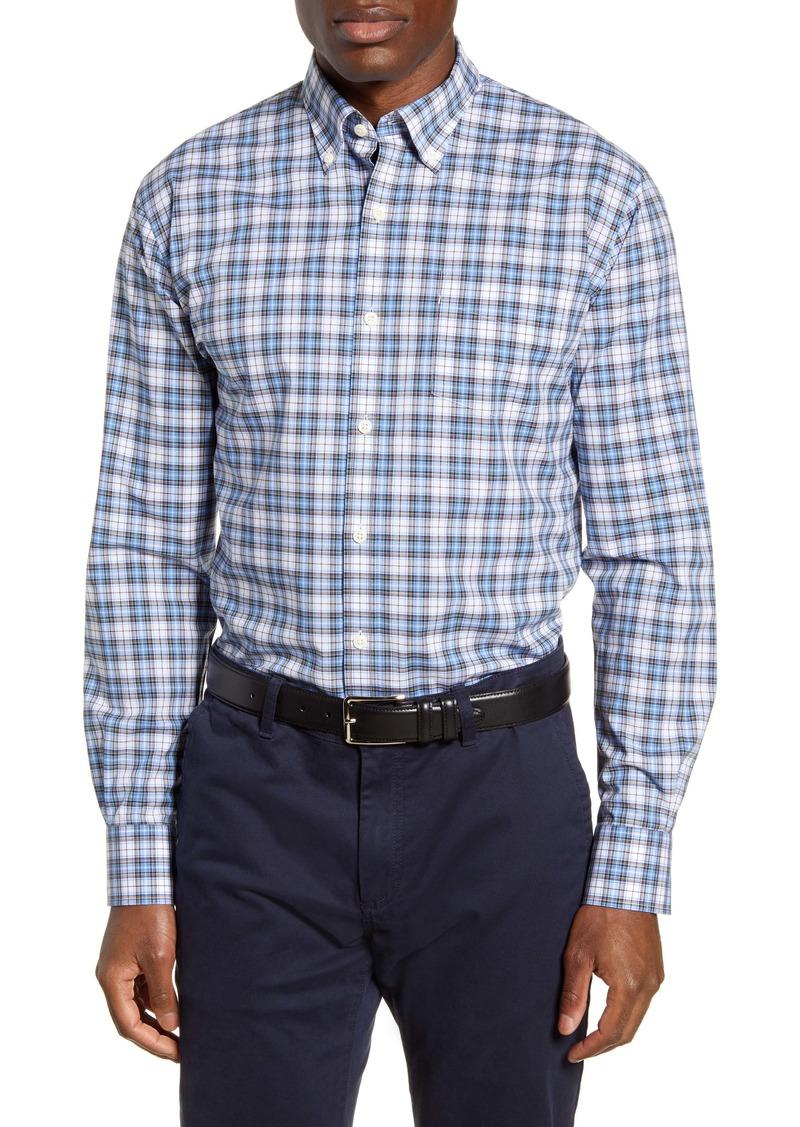 Peter Millar Pacifica Coast Regular Fit Plaid Button-Down Shirt