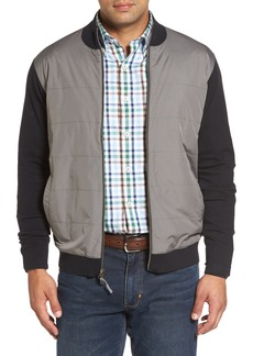 Peter Millar Patterson Zip Hybrid Jacket