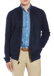 Peter Millar Quilted Zip Jacket