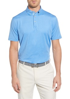 Peter Millar Regular Fit Button-Down Polo