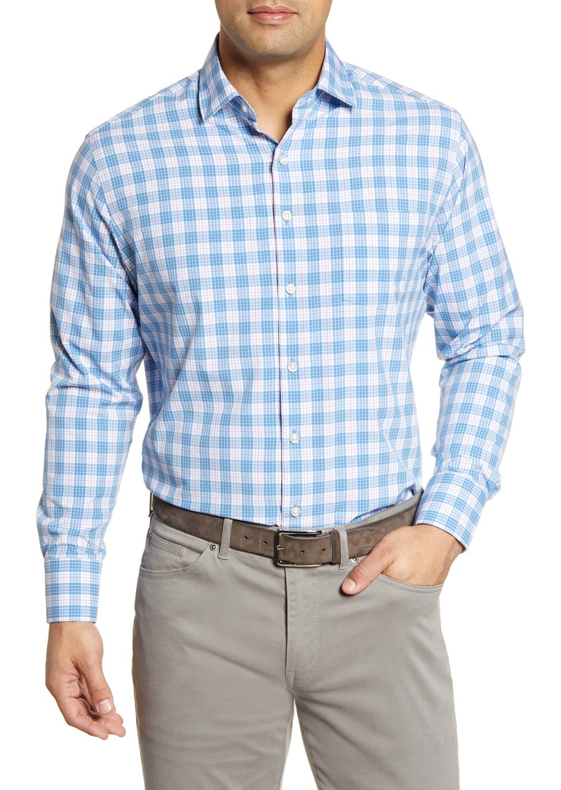 Peter Millar Regular Fit Plaid Button-Up Shirt