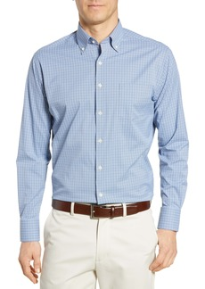 Peter Millar Regular Fit Plaid Performance Button-Down Shirt