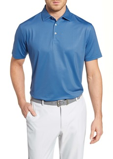 Peter Millar Regular Fit Windmill Print Performance Polo