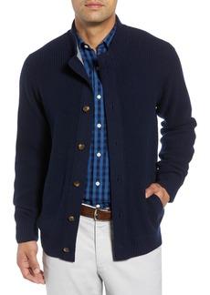 Peter Millar Regular Fit Wool Blend Cardigan