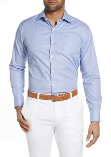 Peter Millar Robinson Gingham Check Button-Up Shirt
