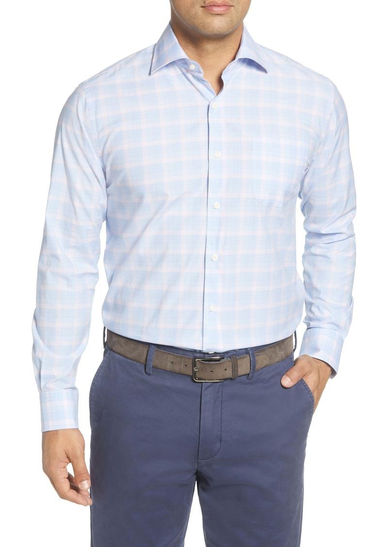 Peter Millar Roscoe Glen Regular Fit Plaid Button-Up Shirt