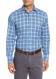 Peter Millar Savoie Regular Fit Check Button-Up Shirt