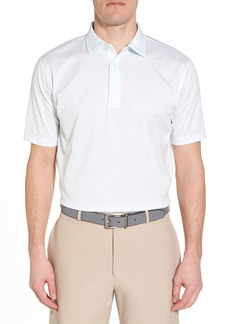 Peter Millar Sean Heritage Stripe Nanoluxe Polo