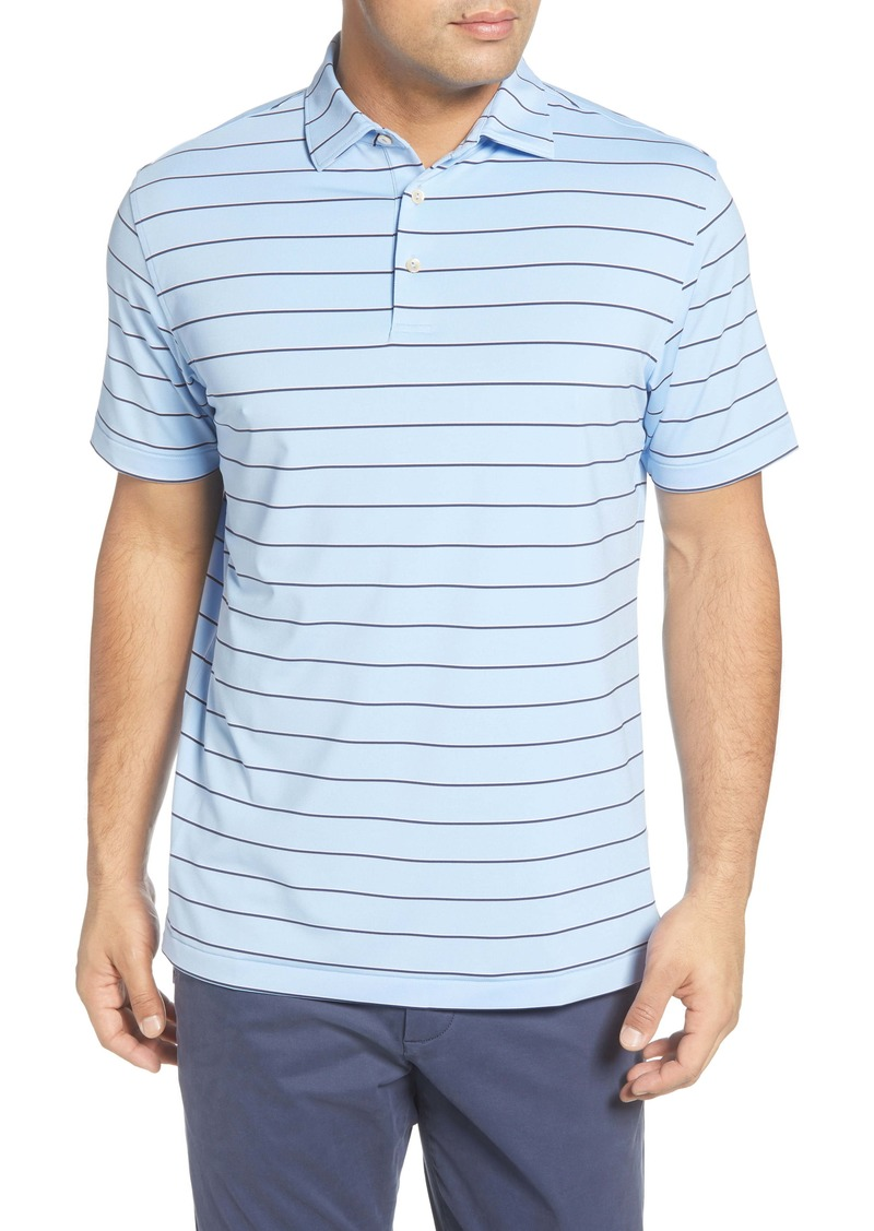 Peter Millar Sean State Stripe Regular Fit Performance Polo