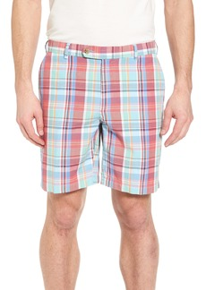 Peter Millar Seaside Madras Plaid Shorts