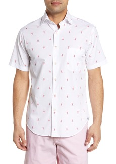 Peter Millar Seaside Regular Fit Print Shirt